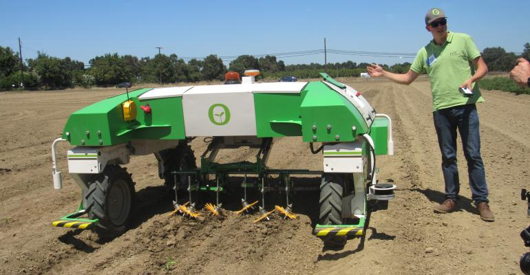 Mechanized weeder