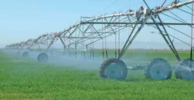 Overhead irrigation's production paradigm
