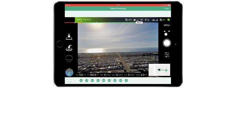 screen shot of aerial drone image