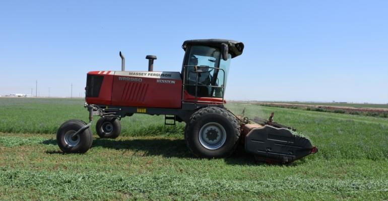 AGCO-Hesston WR9960 windrower