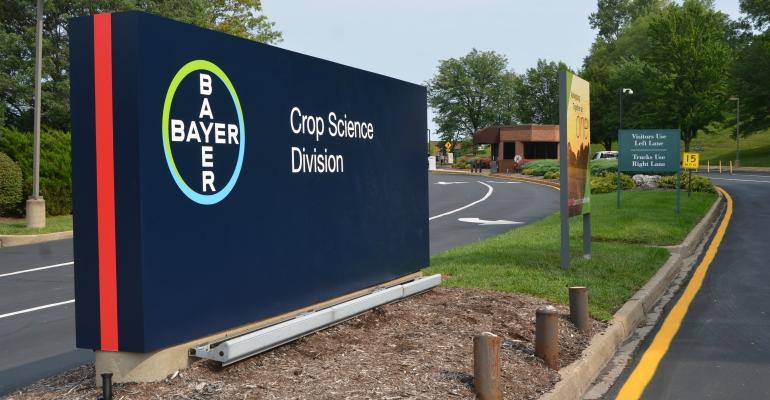 new Bayer sign