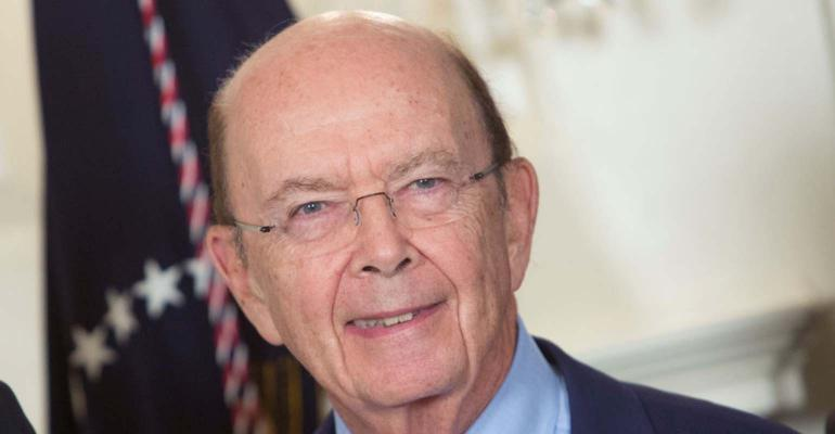 Wilbur Ross, Commerce Secretary