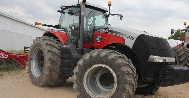 Case IH now offers Low Sidewall Technology tires on its Magnum Series tractors