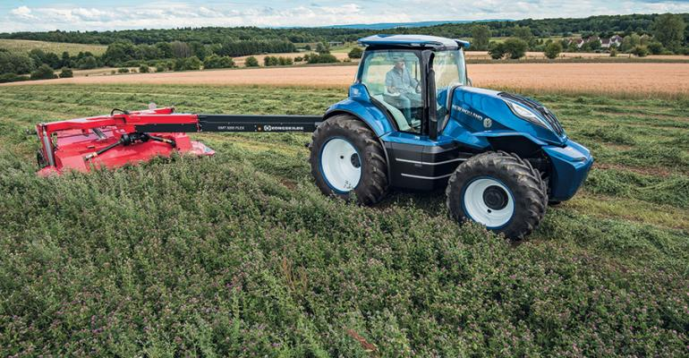 New Holland Agriculture methane-powered concept tractor