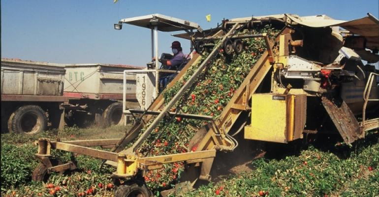 California Crop Weather: crop harvests underway