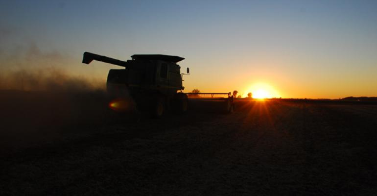 Soybean harvest-farm succession