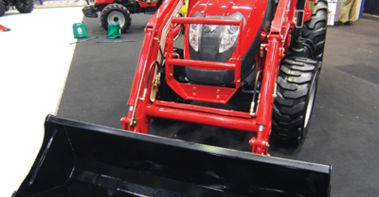 Utility tractors from South Korean manufacturer TYM