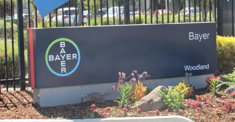 Bayer crop research facility entrance