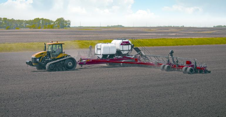 AGCO's new 36-row, tracked White Planter creates a stir