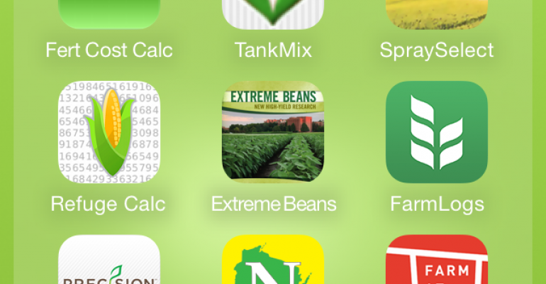 Mobile apps to use on farm in spring