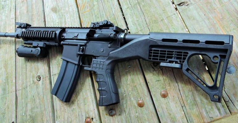 A bump stock can turn a legal semi-automatic rifle into an illegal automatic