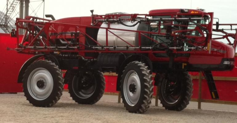 New from Farm Progress: Case IH upgrades its 1,200-gal. self-propelled sprayer