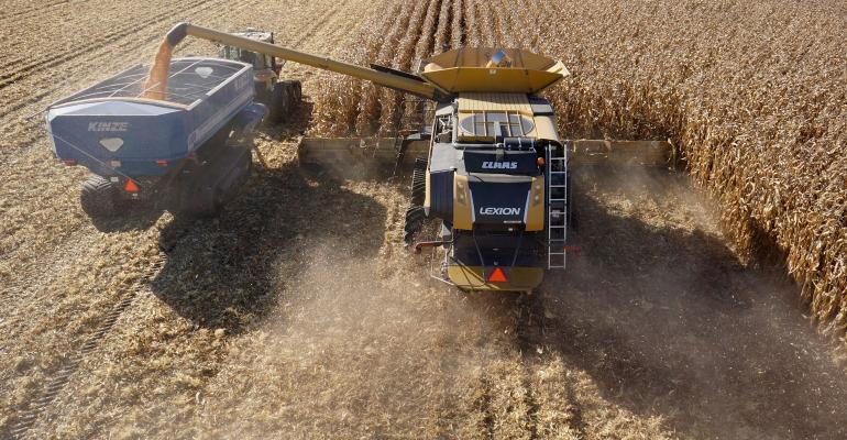Claas combine tech allows farmers to think about fall work in a new way.