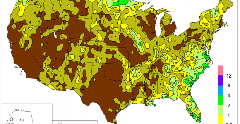 USDA Weather update: Mostly dry and hot; crops thriving with soil moisture reserves