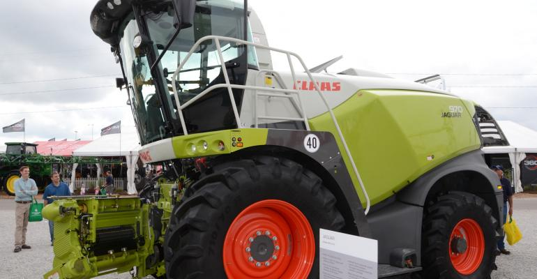 Two new Jaguar machines join the line for Claas