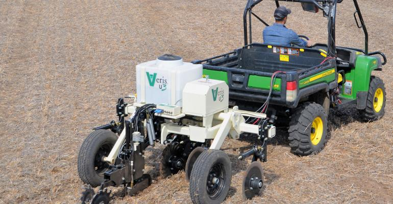 Veris Technologies has launched its onthego soil sensor platform the Veris U3 that uses three sensors to create what it calls affordable highresolution soil pH organic matter and soil texture electrical conductivity maps behind a utility vehicle