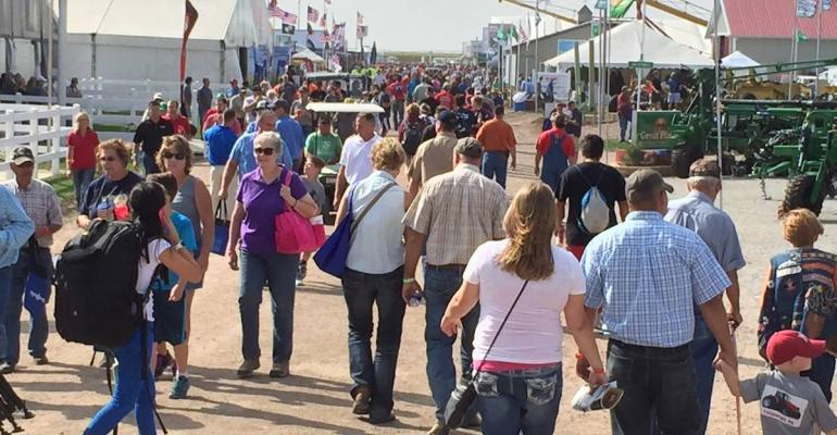 Dry weather and the promise of plenty of new tools and tech to see brought a big crowd to the 2015 Husker Harvest Days show
