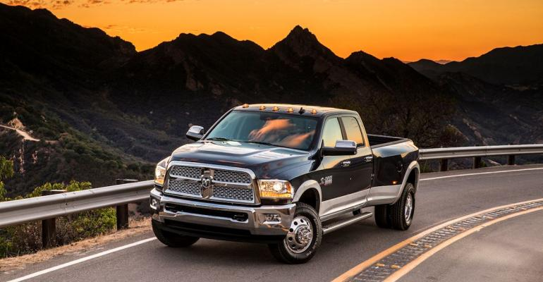 Ram Trucks get a few internal upgrades and a new trim level  Limited  for 2016