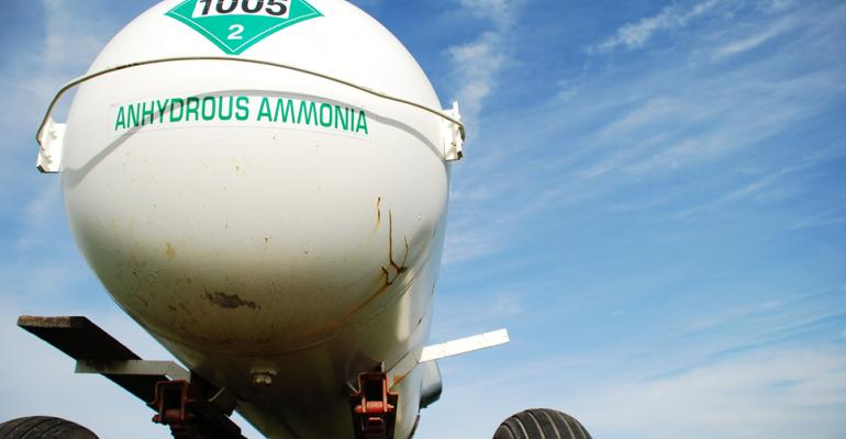 Anhydrous Ammonia Application And Dry Soils