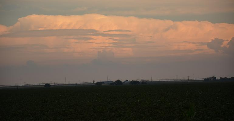 Maybe some rain will come from this cloud and provide muchneeded moisture to West Texas farmland