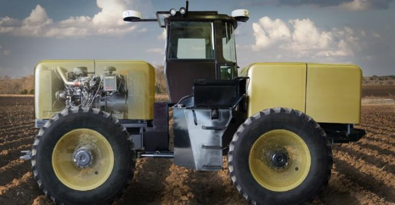 Autonomous Tractor Corporation has designed a tractor that can operate itself without a driver onboard