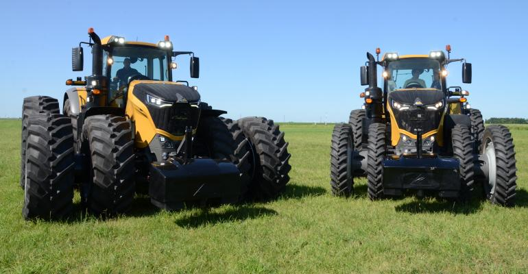 Agco is launching the fourmember Challenger 1000 line of tractors with a wide range of hightech features