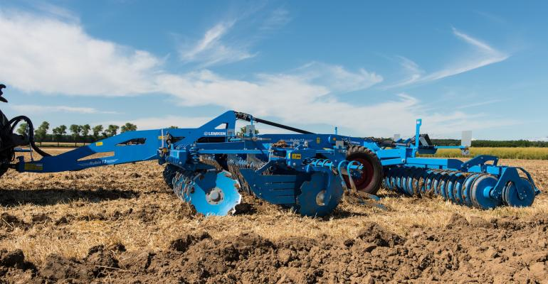 The Lemken Rubin 12 is a compact disk harrow with a wide range of productivity enhancing features