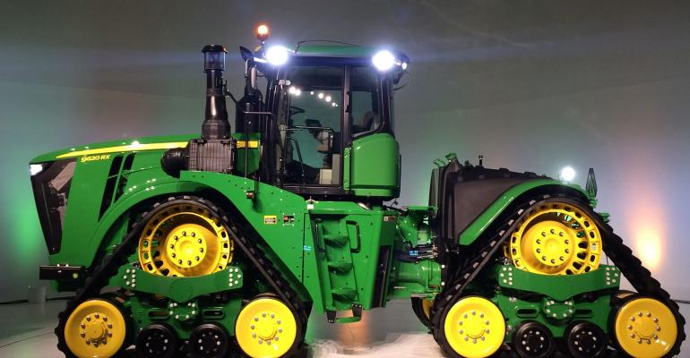 John Deere rolls out new, upgraded products for 2016