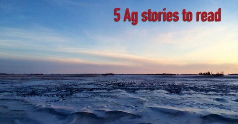 5 Ag stories to read: Transportation calculator, farm income and land values down, planting intentions
