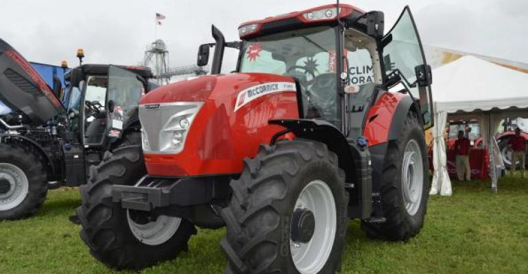 Farm shows have a range of tools to check out including tractors loaders and attachments