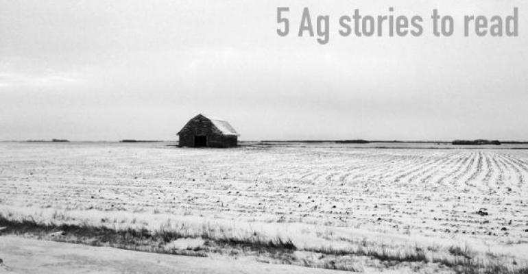5 Agriculture stories to read, Dec.19, 2014