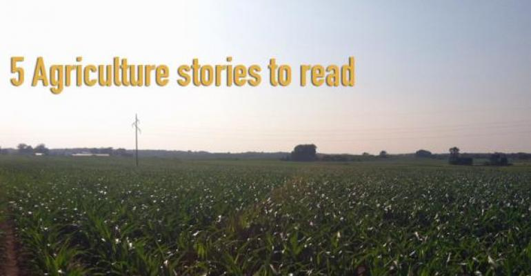 5 Agriculture stories to read, Aug. 8, 2014