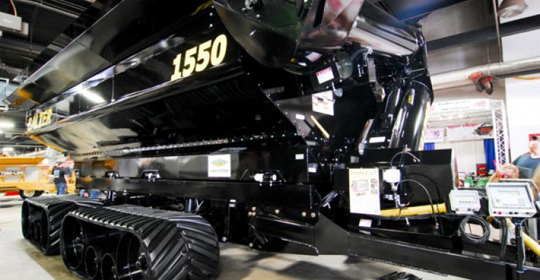 Steerable grain cart tracks, tillage tools, loaders and more from 2013 National Farm Machinery Show