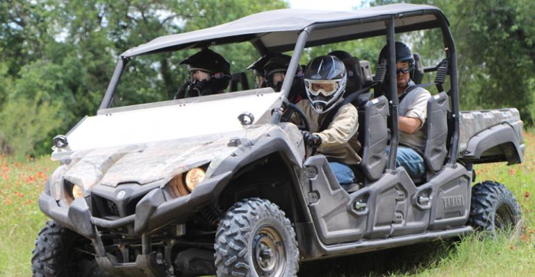 Yamaha enters the six-seater off-road SxS market with the new Viking VI