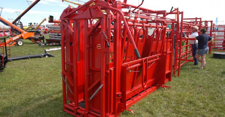 Livestock products were all over the fall farm shows offering producers the chance to upgrade while market prices are strong We also feature a few material handling products