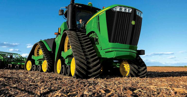 John Deere is officially rolling out the 9RX series of fourtrack machines in time for the 2015 fall farm shows Teased last year the new machine offers a range of features In addition the company launched other line enhancements including updates to the SSeries combines new variable rate tillage technology and several hay and foragemaking tools Photo John Deere
