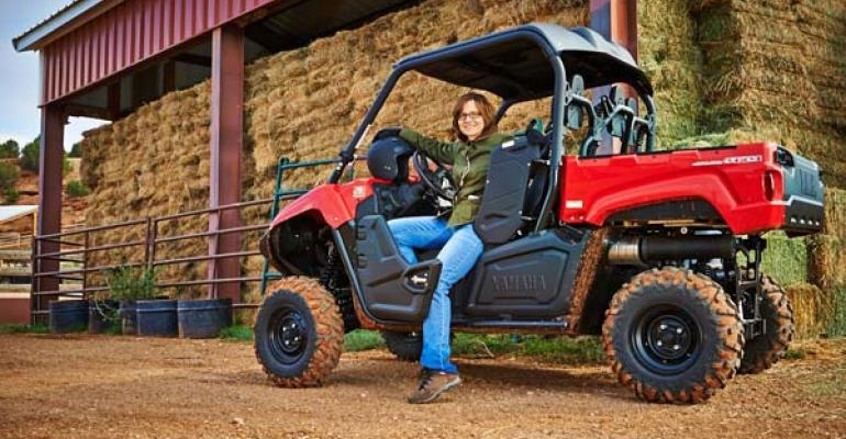 Jodie Wehrspann took the new 2014 Yamaha Viking sidebyside for a test drive in the Wyoming Big Horn Mountains