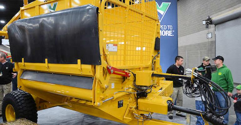 Vermeer showed off the new Final Cut FPX9000 during the National Farm Machinery Show