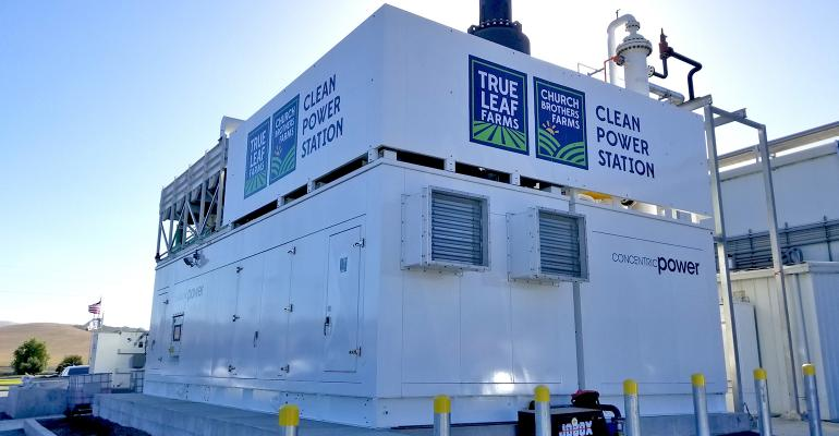 Clean Power Station natural gas generator