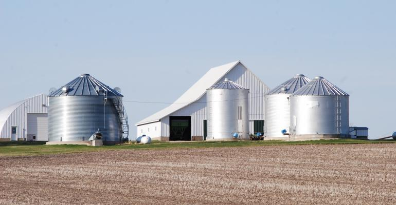 On-farm grain handling bins