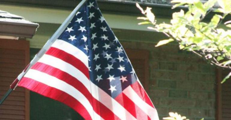 2011 Veterans Day: American flags across the Midwest