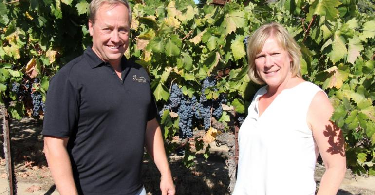 Kyle and Jorja Lerner of Harney Lane Winery and Vineyards