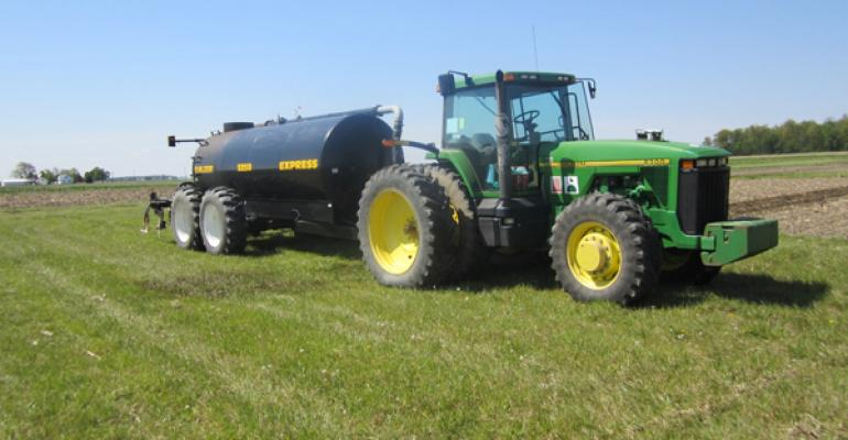 Apply Manure to Get Best Benefit of Available Nitrogen for Corn