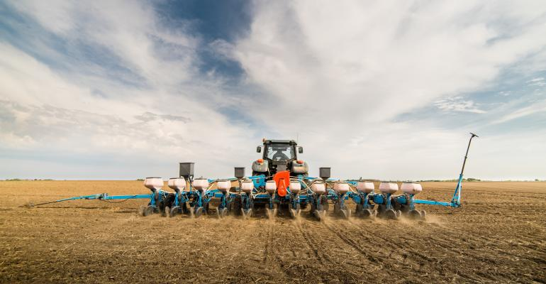 planting crops in the spring