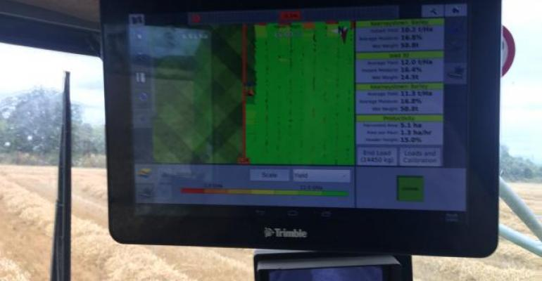 Precision ag monitor