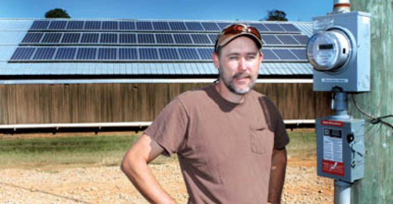 Solar power success for poultryman