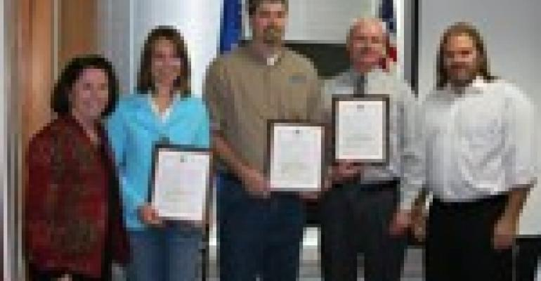 NRCS District Conservationists Honored