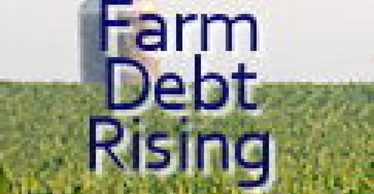 Farm Debt Level on the Rise