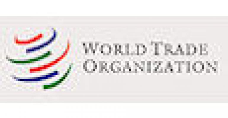 WTO Trade Talks Going Slowly