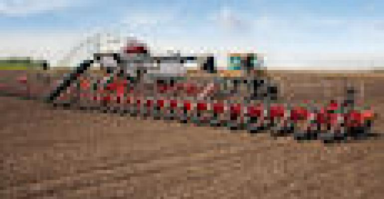 Agco's 90-Foot White Planter Rolls On Tracks